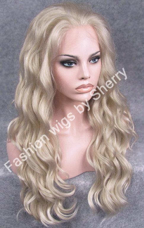 S06 24 Long #16/1001 Ash Blonde 150% Density Heat Friendly