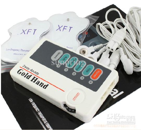 Low freq تدليك مصغرة مدلك مع 4 منصات آلة عشرات مدلك عنق الرحم مصغرة آلة التدليك 30 قطعة / الوحدة