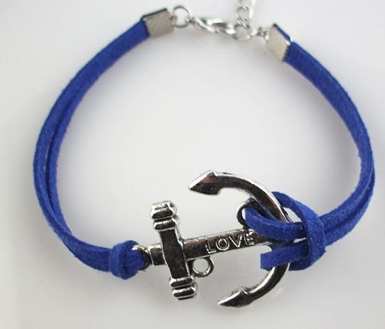 / Bracciale da uomo Argento AMORE bracciale in pelle con cordino in pelle bracciale in pelle braccialetto braccialetto moda fai da te