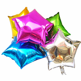 $enCountryForm.capitalKeyWord UK - 50Pcs 18inch Five-pointed star Helium Foil Balloon,Holidays & Party Supply Decorations mix color