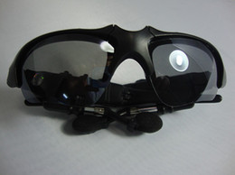 Wholesale Sport Mp3 Headset 4gb - New arrival wireless sunglass mp3 player Headset Sports free shipping!!!