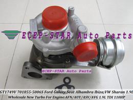 Turbos ford online-GT1749v 701855-5006S 701855 701855-0006 701855-0004 701855-0002 Turbo para Ford Galaxy Seat Alhambra Ibiza VW Sharan AVG AUY AFN ASV 1.9L TDI