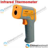 Wholesale Health Care Infrared Thermometer - -32-380 degree Non-Contact Gun Shape IR Infrared Thermometer with Laser Pointer