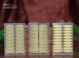 Wholesale Stickers Three - 1000 pcs (500pairs) Hot selling Breathable Invisible Double Eyelid Tape Eyelid Sticker for eyes eye tapes three sizes high quality H152