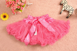 Wholesale Colorful Skirts For Summer - New arrival Baby pop pettiskirts dress girl's colorful skirt girl's pettiskirt girl's skirt fluffy dress 10 colors for choose
