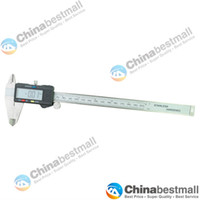 """Wholesale Digital Vernier Caliper Widescreen - 8"""" 200 mm Digital Vernier Caliper Micrometer Guage Widescreen Electronic Accurately Measuring stainl"""