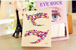 Wholesale Double Eyelid Stickers - 50pairs Eye Shadow Sticker Decal Double Eyelid Makeup Tools Cosmetic Products Free Shipping