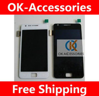 Wholesale S2 Screen Replacement - Original Quality Touch Screen Digitizer+LCD For Samsung I9100 Galaxy S2 Repair Replacement 1PC Lot Free Shipping
