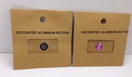 Bouton d'accueil autocollant iphone ipad en Ligne-Navire gratuit 50 Packs alliage d'aluminium Home Button Stickers pour iPad iPhone 5 5G 4S cadeau avec paquet de vente au détail