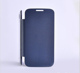 Wholesale Galaxy S Flip Cover - flip leather PU cases skin cover case for Samsung GALAXY S4 i9500 S 4