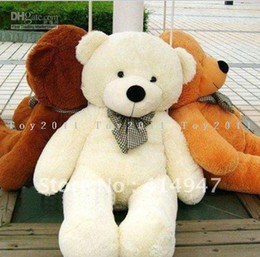 Wholesale Teddy Bear Lovers Big - quality Plush toys teddy bear birthday gift big embrace bear doll Christmas gift lovers Free shipping