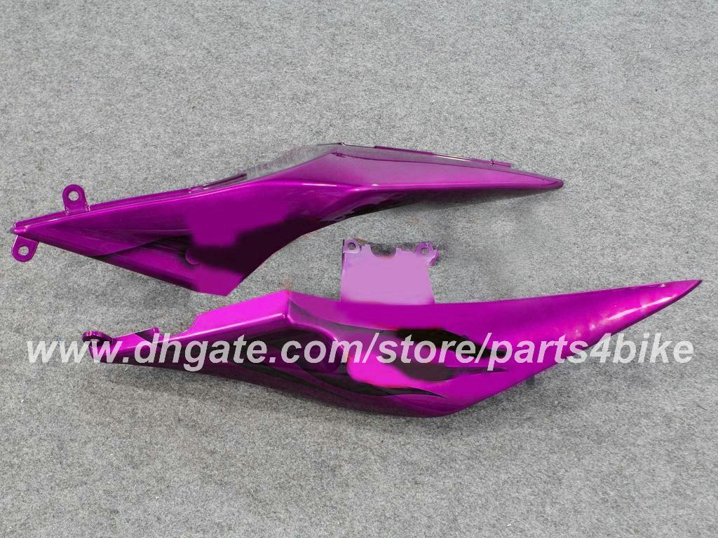 Personaliseer Motorfiets Vogelvakken voor Kawasaki Ninja 250R EX250 08 09 10 11 ZX250R 2008 2009 2010 2011 Verkrijgen Paars Zwart Vlammen Carrosserie RX7Z
