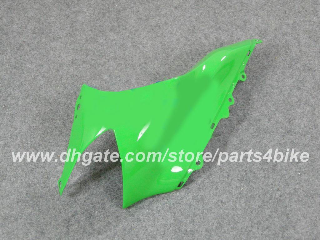 Custom Racing Verkleidungskit Einspritzung für Kawasaki ZX10R 04 05 ZX10R 2004 2005 ZX 10R 2004 05 Verkleidung Motorrad Karosserie Set grün schwarz RX2n