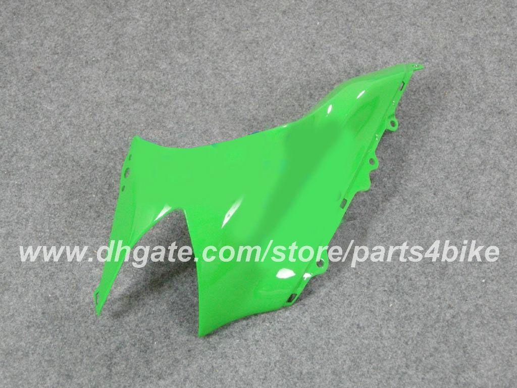 Kit carena da corsa custom Injection Kawasaki ZX10R 04 05 ZX10R 2004 2005 ZX 10R 2004 05 carene set carrozzeria carrozzeria verde nero RX2n