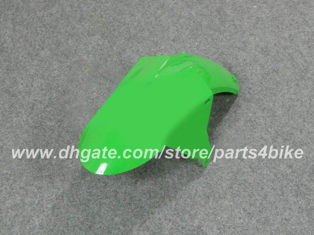 Kit de carenado personalizado Inyección para Kawasaki ZX10R 04 05 ZX10R 2004 2005 ZX 10R 2004 05 carenados conjunto de carrocería de motocicleta verde negro RX2n