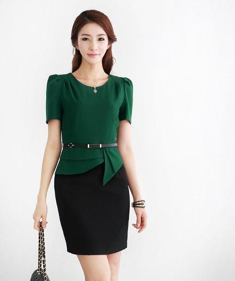 Women Suits Dress Fashion Ladies Business Dress, Pencil Dress ...