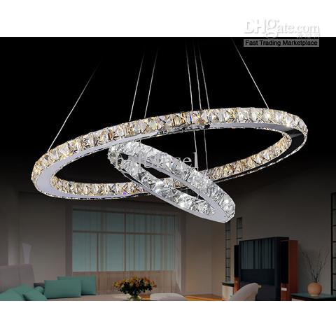 Crystal Chandelier Ring Type Crystal Lamp Dual Ring Online with   666.67 Piece on Halbinsel s Store  f4455f1965
