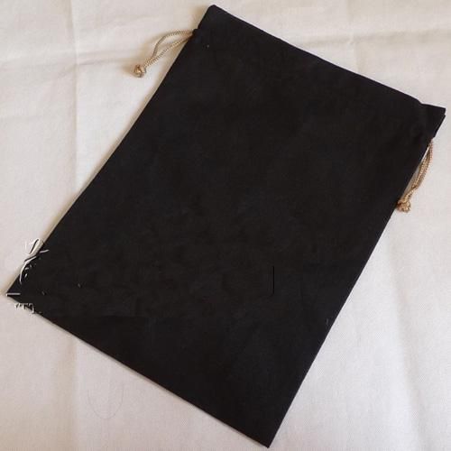 Custom Shoe Bag Logo Reusable Cotton Cloth Drawstring Bags ...