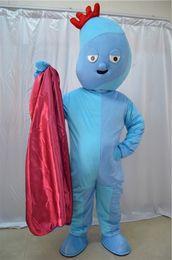 Nights Costume Canada - NEW Night Garden Iggle Piggle CARTOON CLOTHING MASCOT COSTUME HALOWWEN