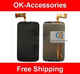Wholesale T328e Desire X - LCD+Touch Screen Digitizer For HTC Desire X T328e 1PC Lot Free Shipping