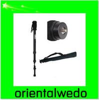 "Wholesale Cameras Case For Sale - Aluminium ballhead monopod 67"" FOR camera + Case NEW top sale free shipping"