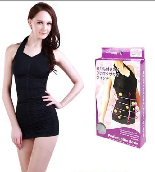 c10f5f184e Halter Body Shaper Dress Perfect Slim Body Undergarment Halter Body ...