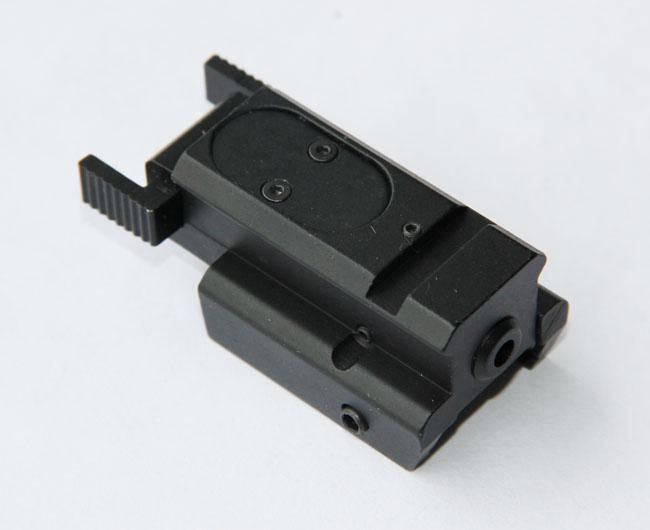 Tactisch Compact Pistool Green Laser Sight voor 20mm WEAVER-RAIL