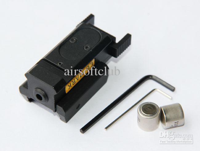 Vista tática do laser do verde da pistola compacta para o trilho do tecelão de 20mm