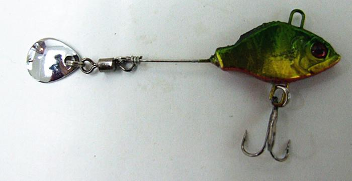 Lead Bait Fishing Tackle Jig Fishing Lure Lead Fish Shape with Spinner Tail China Hook two Size 16g 3.5cm 11g 3cm