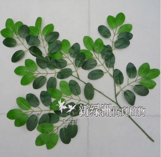 Simulatie blad kunstmatige zijde planten blad kunstmatige boom takken blad van sprinkhaan boom /