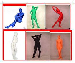 Lycra Spandex Full Body Costume Sexy Catsuit Halloween Party Zentai Costumes S-XXL