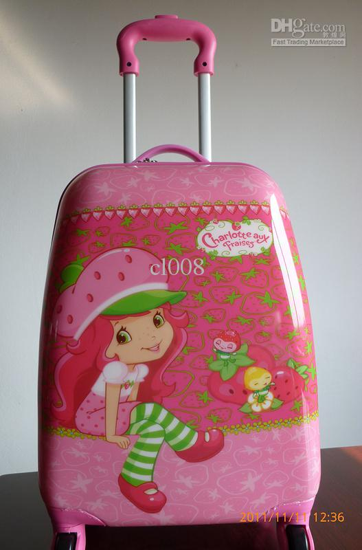Most Popular Girls Suitcases Draw Bar Box Universal Wheel Travle ...