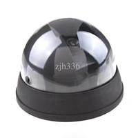 cctv sensörleri toptan satış-Ücretsiz Kargo 5 Adet / grup Yeni LED Işık Kukla Sahte Şaka Ev CCTV Güvenlik Kamera Hareket Dedektörü Sensörü