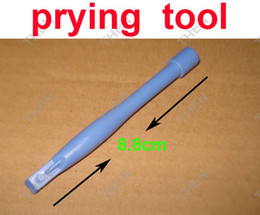 Spudger di plastica online-Spudger Strumenti Prying Columniform Blue Plastic Crowbar prytool Kit di strumenti di apertura per iPhone 4 / 4s / 5 Riparazione del telefono cellulare all'ingrosso
