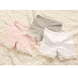 d717d8c097c Sale - Baby girls shorts kids children solid lace side leggings tights girl  pants 0504 sylvia 1254058799