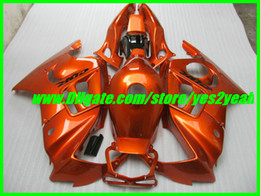 Wholesale Honda Cbr 1997 - Orange ABS Fairing kit for HONDA CBR600F3 97 98 CBR600 F3 1997 1998 CBR600-F3 CBR 600F3 Fairings set+7gifts