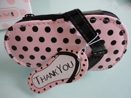 Wholesale Wholesale Personal Care Kit - Free Shipping 20set lot Vogue Pink Polka Purse Slippers Nail Care Personal Manicure & Pedicure Set, Travel & Grooming Kit