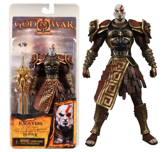 2021 Retail Neca God Of War 2 Ii Kratos In Ares Armor W Blades 7 Pvc Action Figure Toy Doll Mvfg147 From Goodgirls 17 18 Dhgate Com