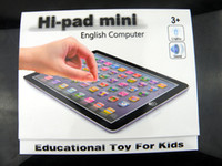 Wholesale Music Light Pad - Free Shipping NEW Y Pad MINI learning educational toys for children,4 colours Mixed,YPad MINI with Music& Light,7PCS Lot