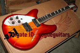 Wholesale 12 string left handed - Custom Shop 360-12 String Left hand Electric Guitar Cherry burst FreeShiping OEM guitar Remarks