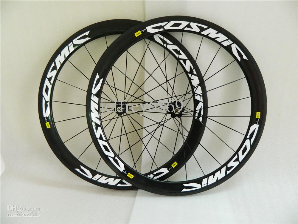 39f24c11fac COSMIC Road 3K Full Carbon Bicycle Wheelset Tubular Clincher Rims Carbon  Bike Wheelset 700C 50mm Carbon ROAD Wheelset Bike MTB Frame Online with   406.25 Set ...
