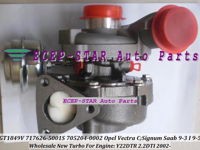 GT1849V 717626 717626-5001S 705204-5001S 705204 24445061 860050 OPEL Vectra C Signum 용 터보 터보 차저 SAAB 9-3 9-5 2.2L DTI Y22DTR 02-