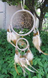 Wholesale Holiday Car Sales - dream catchers for sale feathe Car Pendant holiday gift free shipping  drop shipping