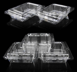 Wholesale Plastic Single Individual Cupcake lunch box Muffin Holders Cases Boxes Cups Pod