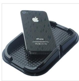 Esteira anti-derrapante para iphone ipad telefone celular quadro multi-função caixa de armazenamento de carro anti slip pad