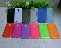 Wholesale Silicone S4 - TPU silicone Jelly Case For Samsung Galaxy S4 S IV i9500