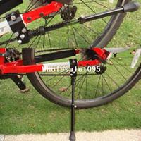 bisikletler toptan satış-Değiştirilebilir Bisiklet Bisiklet Bisiklet Yan Kickstand Kick Standı Tutucu braketi Ayarlanabilir Yeni