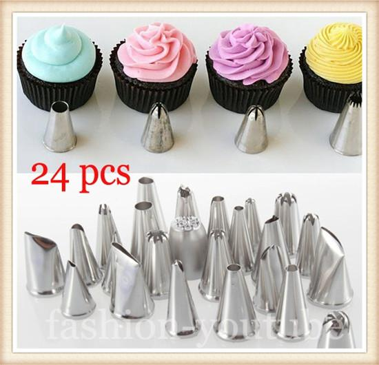 Decorating Tool 2017 icing piping nozzles tips pastry cake cupcake cake decorating