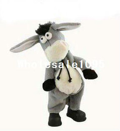 Wholesale Singing Can - Free shipping,Electronic pet donkey, can dance sing shook his head electric donkey, rock donkey, chi