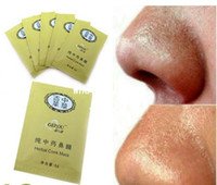 Wholesale Herbal Strips - Herbal Deep Cleansing Nose face Pores Blackhead Remove cleaner Strip Mineral Mud Beauty mask